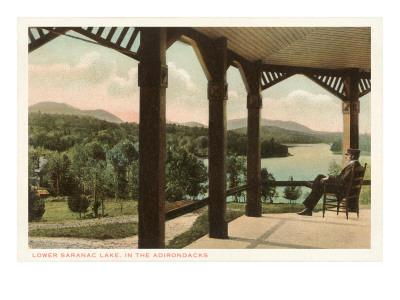 Lower Saranac Lake, Adirondacks, New York