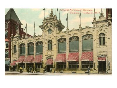 Genesee Amusement Company, Rochester, New York