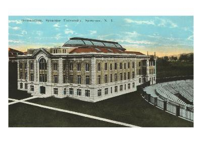 Gymnasium, Syracuse University, New York