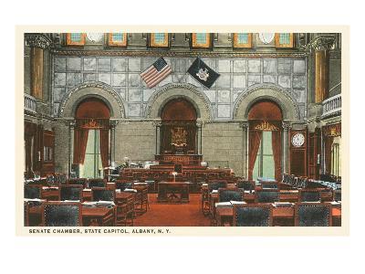 Interior, State House, Albany, New York