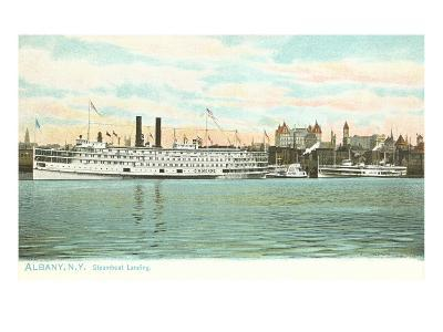 Steamboat Landing, Albany, New York