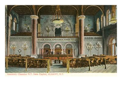 Interior, State House, Albany, New York