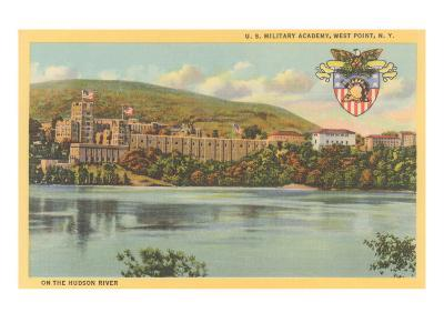 West Point from Hudson River, New York