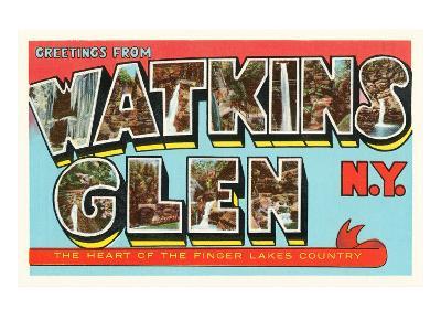 Greetings from Watkins Glen, New York