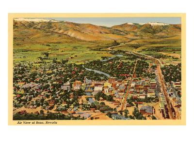 Aerial View, Reno, Nevada