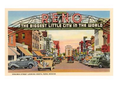 Virginia Street, Reno, Nevada
