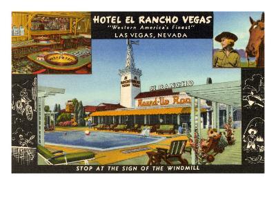 Hotel El Rancho Vegas, Las Vegas, Nevada