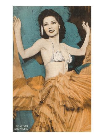 Showgirl, Las Vegas, Nevada