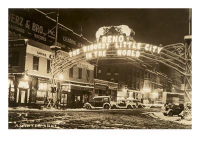 A Winter Night in Reno, Nevada