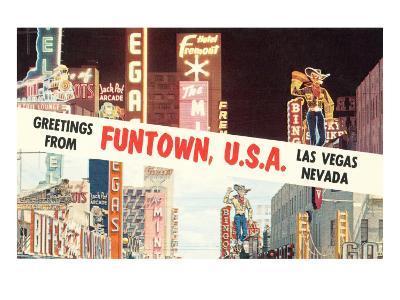 Greetings from Funtown, Las Vegas, Nevada