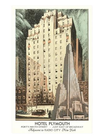 Hotel Plymouth, New York City