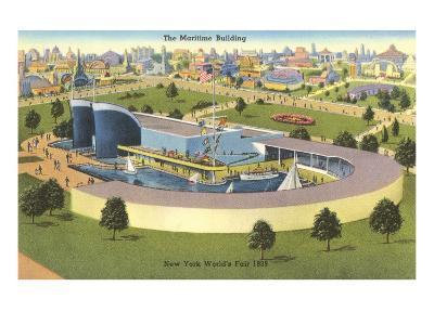 Maritime Building, New York World's Fair, 1939