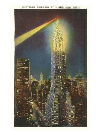 Beacon on Chrysler Building, New York City