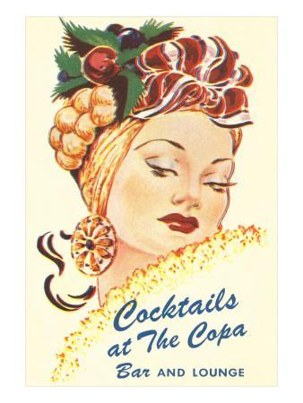 Cocktails at the Copa, Latin Bombshell, Graphics