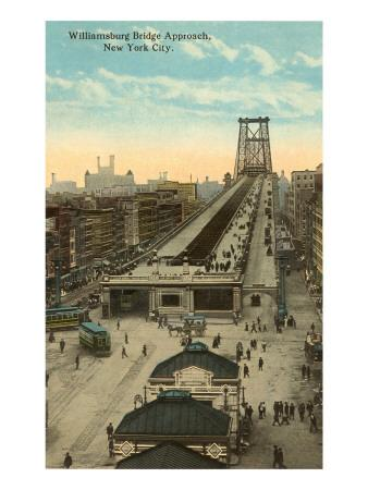 Willamsburg Bridge Approach, New York City