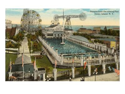 Steeplechase Swimming Pool, Coney Island, New York City