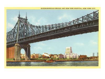 Queensboro Bridge, New York Hospital, New York City