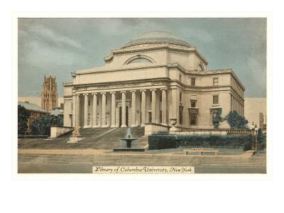 Library, Columbia University, New York City