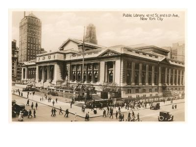 Public Library, New York City, Photo