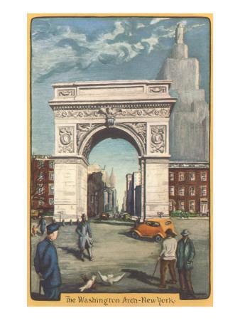 Washington Arch, New York City