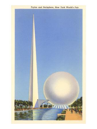 Trylon and Perisphere, New York World's Fair, 1939