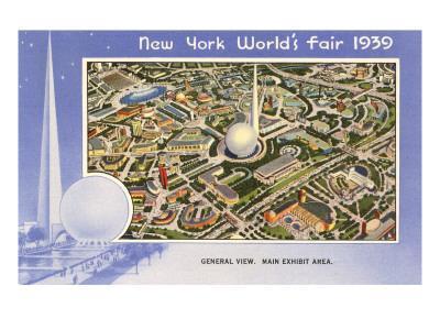 Overview, New York World's Fair, 1939
