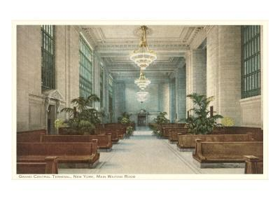 Waiting Room, Grand Central Station, New York City