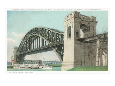 Hell Gate Bridge, New York City