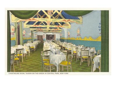Chartreuse Room, Tavern on the Green, New York City