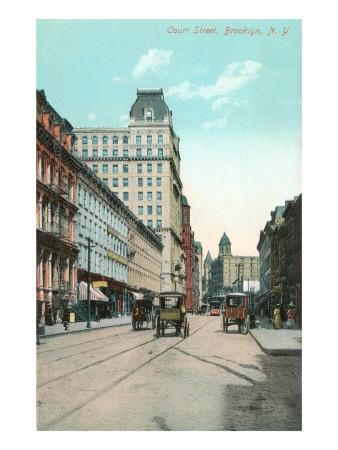 Court Street, Brooklyn, New York City
