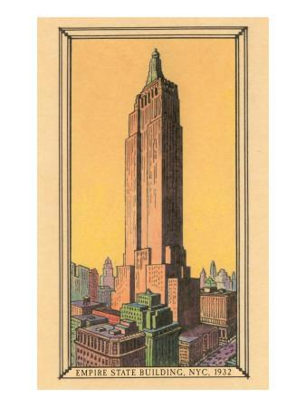 Empire State Building, 1932, New York City