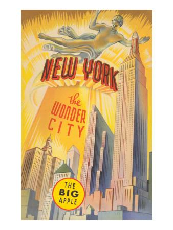 New York, the Wonder City, Skyscrapers