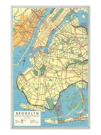 Map Of New York Brooklyn.Map Of Brooklyn New York
