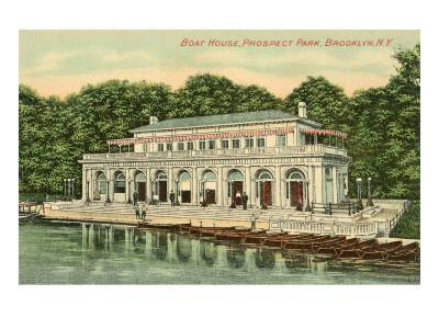 Boat House, Prospect Park, Brooklyn, New York