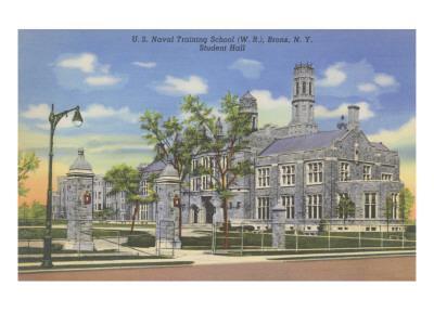 Naval Training School, Bronx, New York