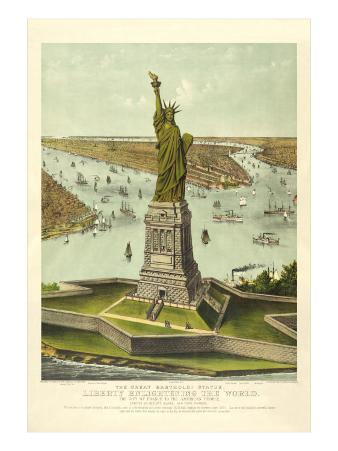 Liberty Enlightening the World, New York Harbor
