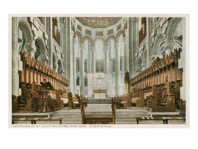 Interior, St. John the Divine, New York City