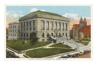 Courthouse, Akron, Ohio