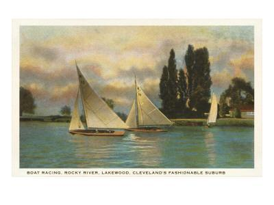 Boat Racing, Lakewood, Ohio