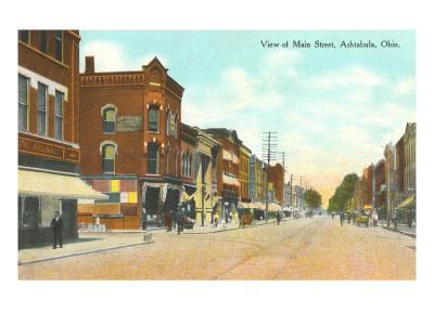 Main Street, Ashtabula, Ohio