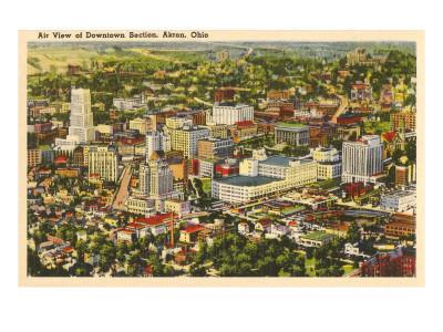 Downtown Akron, Ohio