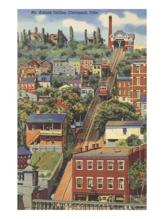 Mt. Adams Incline, Cincinnati, Ohio