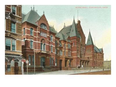 Music Hall, Cincinnati, Ohio