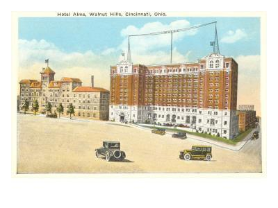 Hotel Alms and Walnut Hills, Cincinnati, Ohio