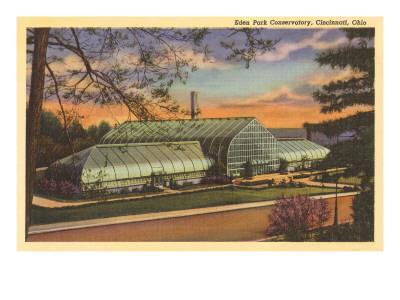 Eden Park Conservatory, Cincinnati, Ohio