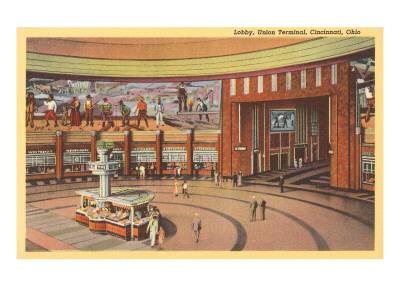 Lobby, Union Terminal Cincinnati, Ohio
