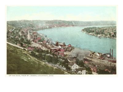 Ohio River, Cincinnati, Ohio