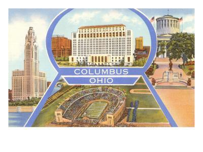 Views of Columbus, Ohio