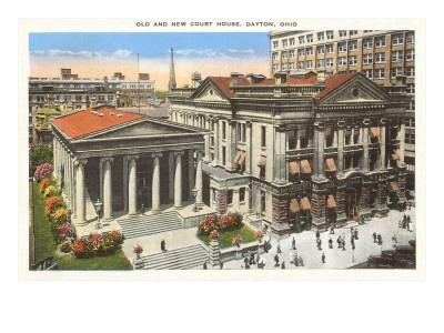 Old and New Courthouse, Dayton, Ohio