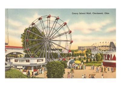 Coney Island Ferris Wheel, Cincinnati, Ohio
